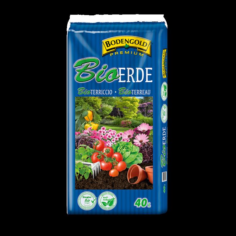 Bodengold BIO Erde 40 Liter