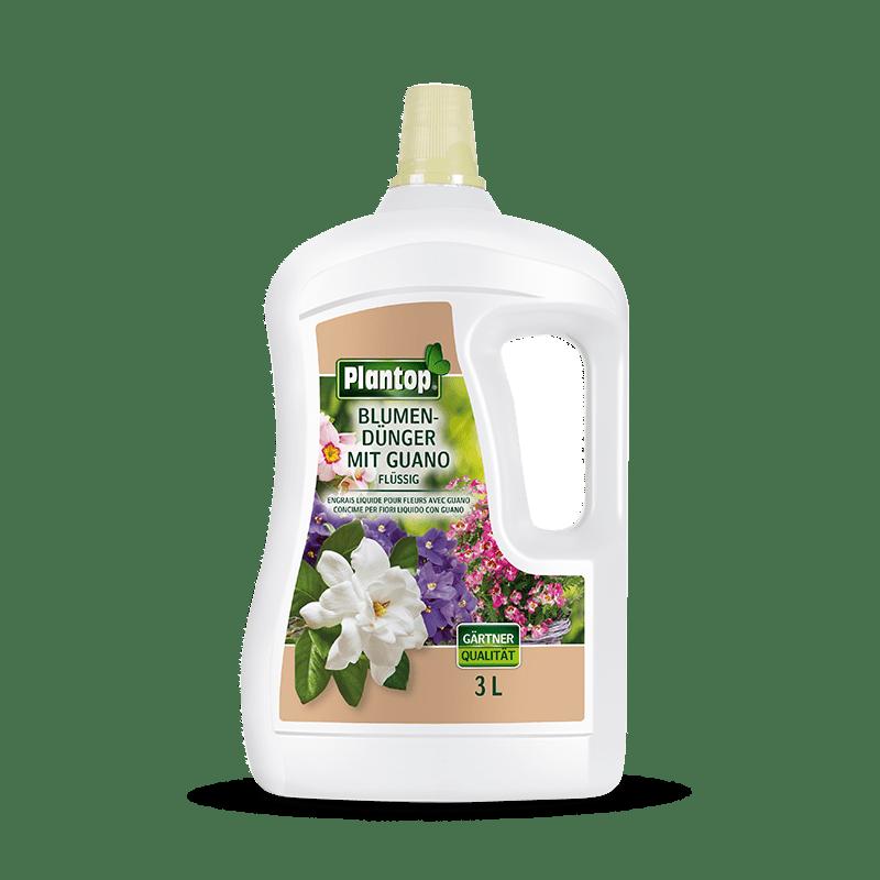 Plantop Blumendünger mit Guano 3 Liter