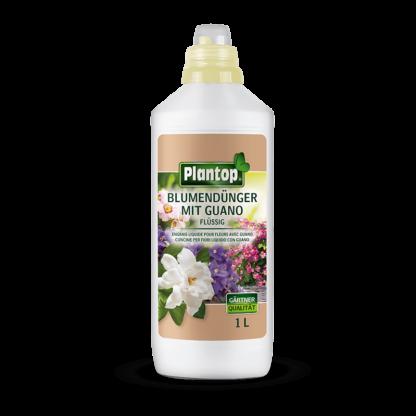 Plantop Blumendünger mit Guano 1 Liter